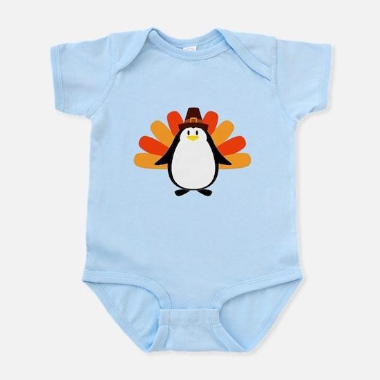 Penguin Pilgrim Turkey Mash-up Body Suit