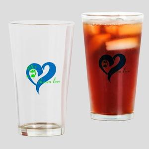 chosen love Drinking Glass
