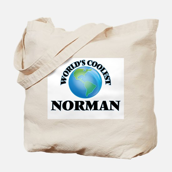 World's Coolest Norman Tote Bag