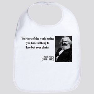 Karl Marx Quote 8 Bib