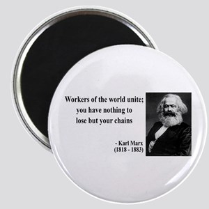 Karl Marx Quote 8 Magnet
