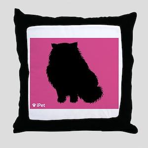 Himalayan iPet Throw Pillow