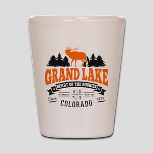 Grand Lake Vintage Shot Glass