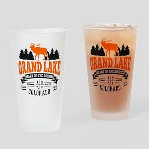 Grand Lake Vintage Drinking Glass