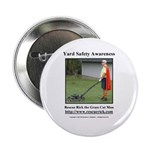 """Yard Safety Awareness 2.25"""" Button (10 Pack)"""