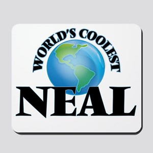 World's Coolest Neal Mousepad