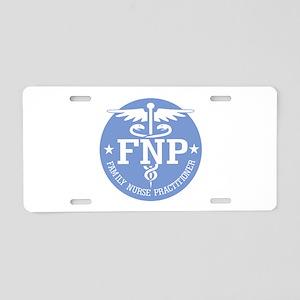 Family Nurse Practitioner Aluminum License Plate