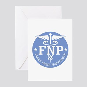 Family Nurse Practitioner Greeting Cards