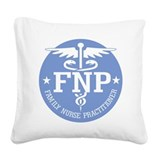 Nurse practitioner Square Canvas Pillows