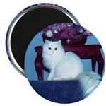 White Persian Magnet (10 pack)