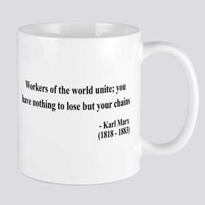 Karl Marx Text 8 Mug