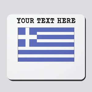 Custom Greece Flag Mousepad
