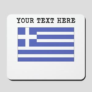 Custom Greece Flag Mousepad