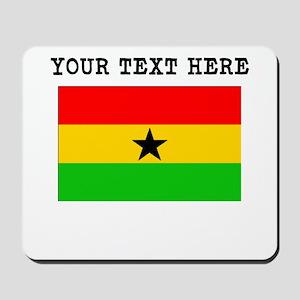 Custom Ghana Flag Mousepad