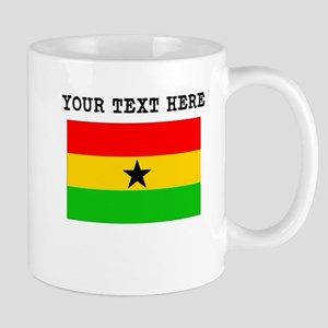 Custom Ghana Flag Mugs