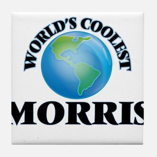 World's Coolest Morris Tile Coaster