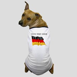 Custom Germany Flag Dog T-Shirt