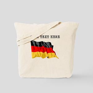 Custom Germany Flag Tote Bag