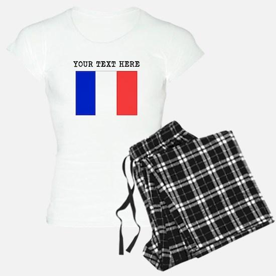 Custom France Flag Pajamas