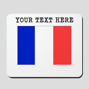 Custom France Flag Mousepad