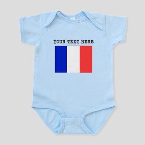 Custom France Flag Body Suit