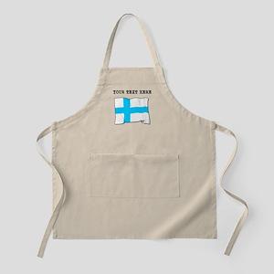 Custom Finland Flag Apron