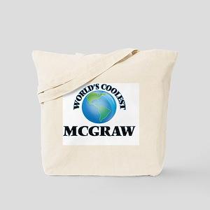World's Coolest Mcgraw Tote Bag