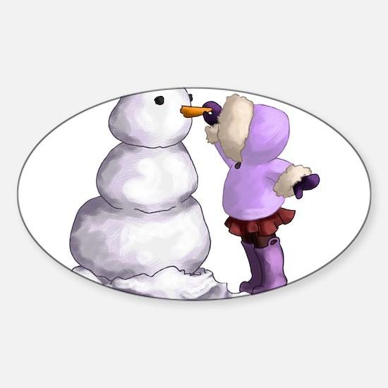Snow Friend Decal