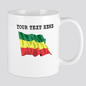 Custom Ethiopia Flag Mugs
