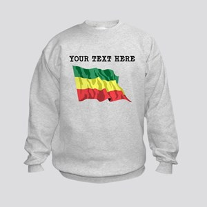 Custom Ethiopia Flag Sweatshirt