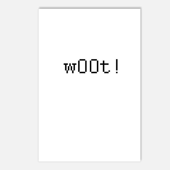 w00t - We own the other team Postcards (Package of