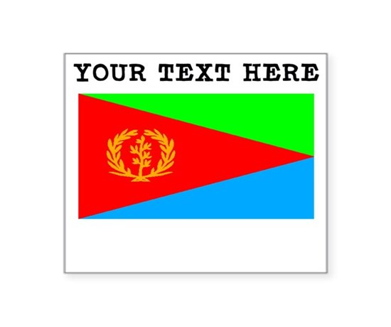 Custom eritrea flag sticker
