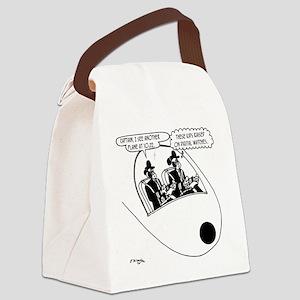 Pilot Cartoon 3683 Canvas Lunch Bag