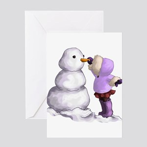 Snow Friend Greeting Cards