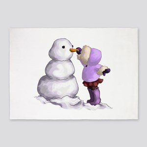 Snow Friend 5'x7'Area Rug