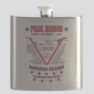 PEARL HARBOR Flask
