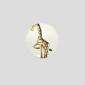 Shiny Giraffe Mini Button