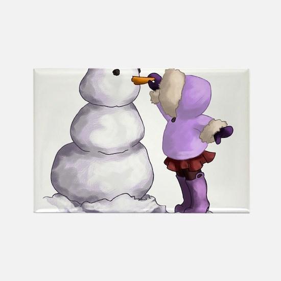 Snow Friend Magnets