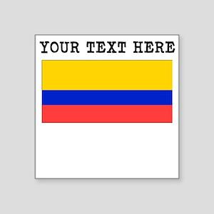 Custom Ecuador Flag Sticker