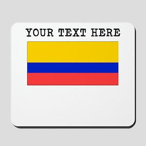 Custom Ecuador Flag Mousepad