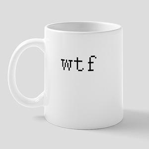 WTF - What the fuck Mug