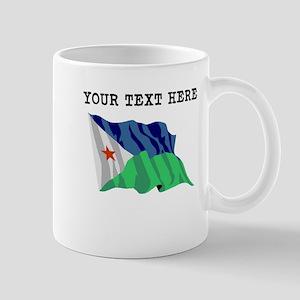 Custom Djibouti Flag Mugs