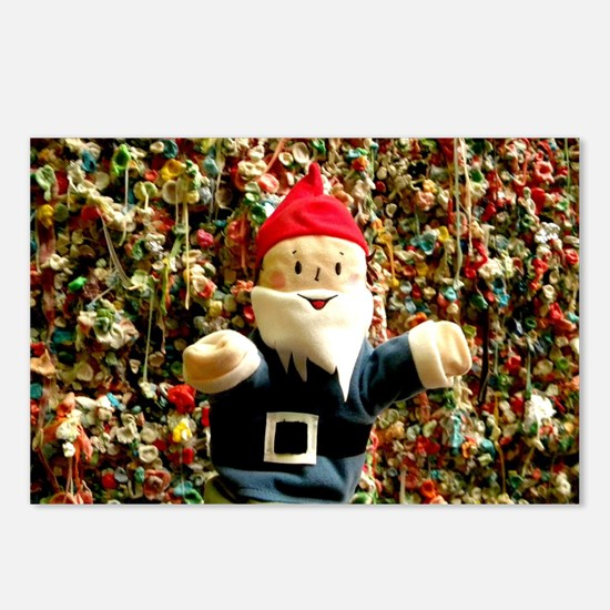 Gum Wall Gnome I Postcards (Package of 8)