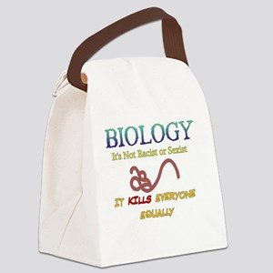 Equal Opportunity Biology Canvas Lunch Bag