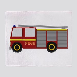 Fire Truck Throw Blanket