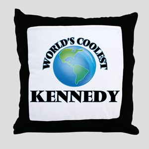 World's Coolest Kennedy Throw Pillow