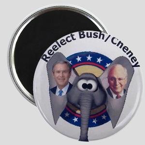 Reelect Bush - Cheney 04 Magnet