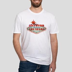 Vintage Las Vegas Fitted T-Shirt