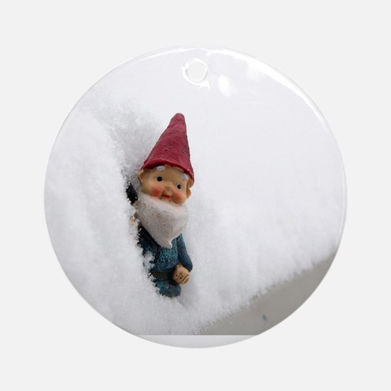Snowbound Hector Ornament (Round)