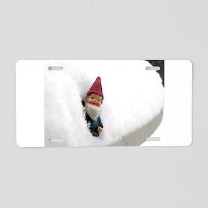 Snowbound Hector Aluminum License Plate